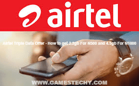 Airtel Triple Data Offer