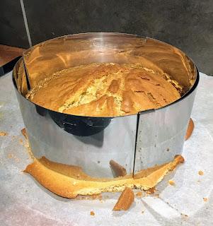 gâteau licorne resultat molly cake