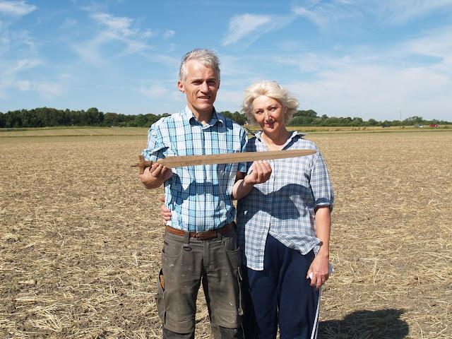 3,000-year-old sword found in Denmark