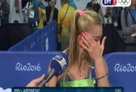 Συγκλονιστικές στιγμές: Ελληνίδα πρωταθλήτρια ξέσπασε σε κλάματα μπροστά στην κάμερα! (VIDEO)