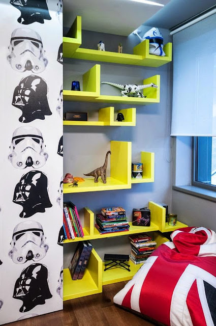 Unique Shelf Ideas for Kids Room