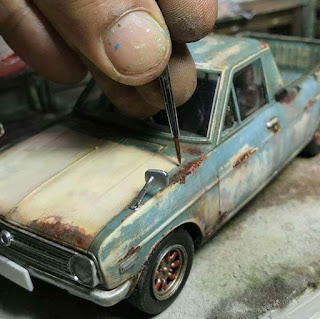 Rusty Car Diorama
