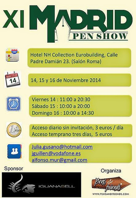 MADRID PEN SHOW