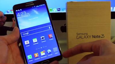 Unlock điện thoại Samsung galaxy note 3