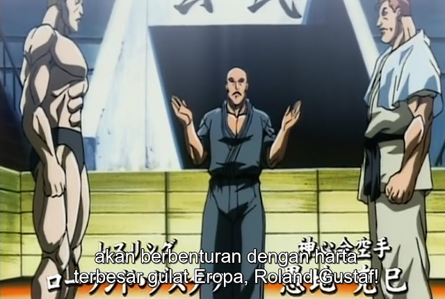Baki The Grappler Episode 27 Subtitle Indonesia