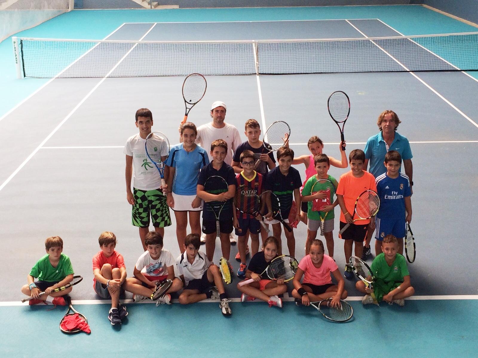 1eb60930fa3 Campeonato Navarro Absoluto de Tenis 2015. ADSJ-DKE  Torneo de Minitenis