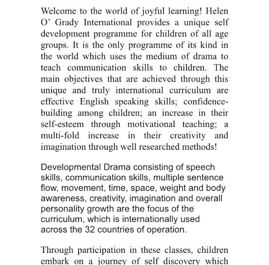 Helen O'Grady International @DLDAV MODEL SCHOOL PITAM PURA