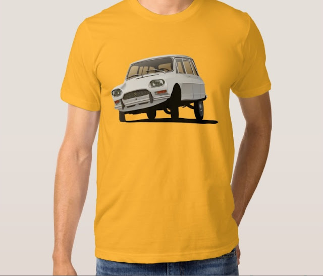 Old school Citroën Ami 8 t-shirt