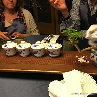 rice drinking vinegar at Yu Shan Ge in Taipei, Taiwan