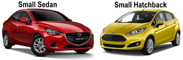 Kereta dalam Kategori dan Segmen B