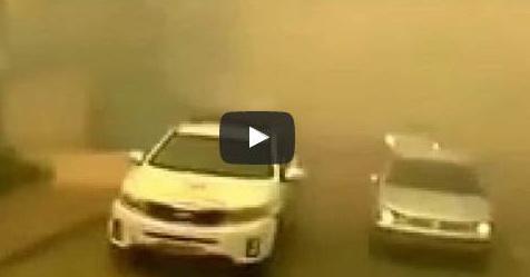 VIDEO: Akibat Kebakaran, Israel Ditutupi Awan Berbau Busuk