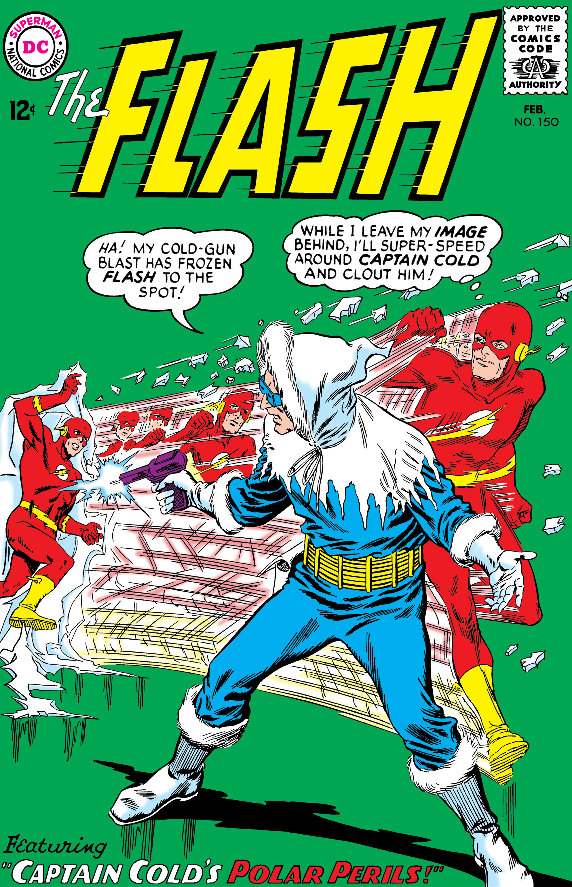 The Flash (1959) 150 Page 1
