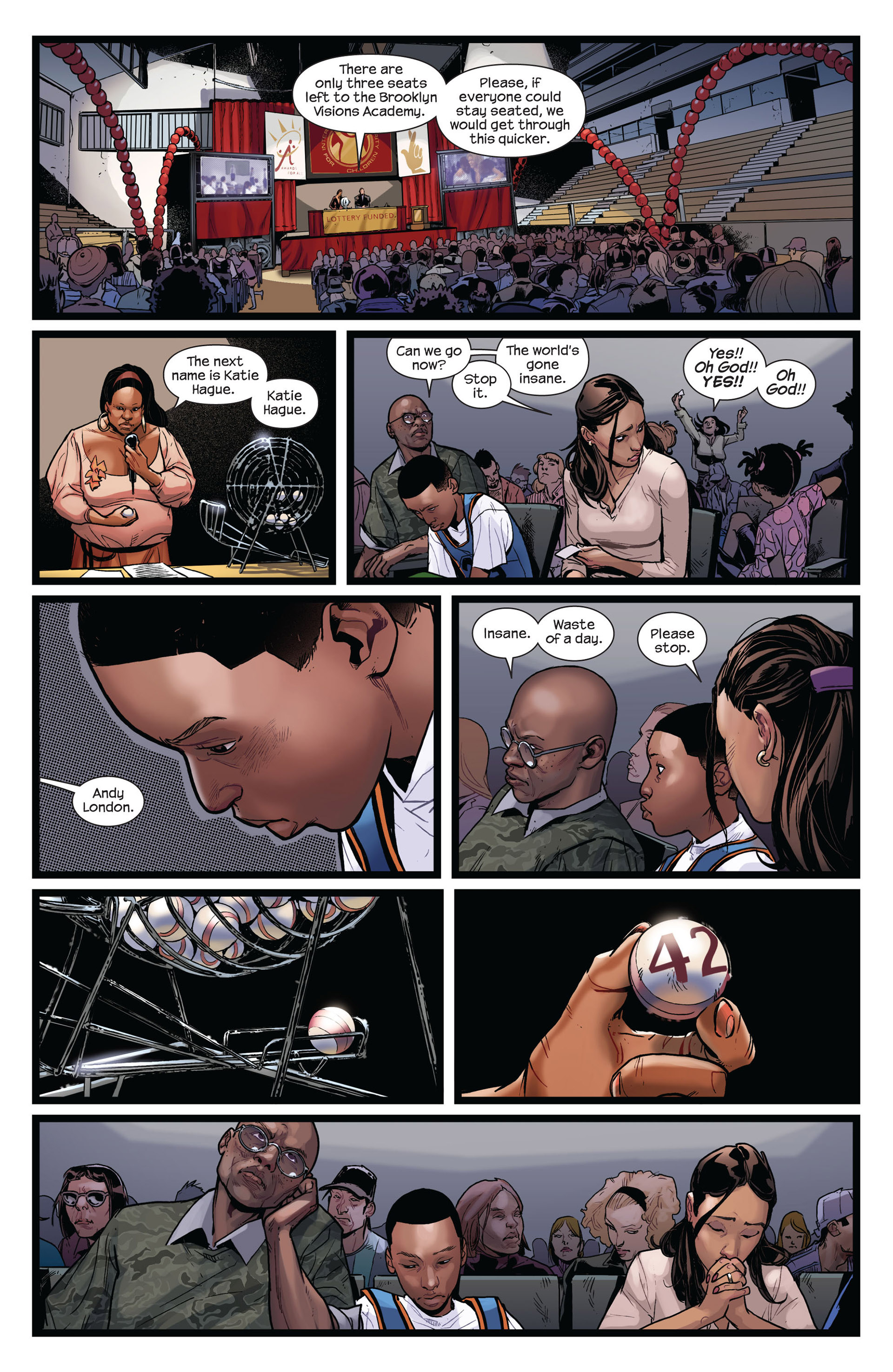 Read online Ultimate Comics Spider-Man (2011) comic -  Issue #1 - 9