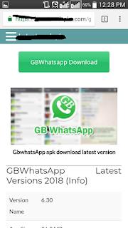 cara memperbarui gbwhatsapp yang kadaluarsa