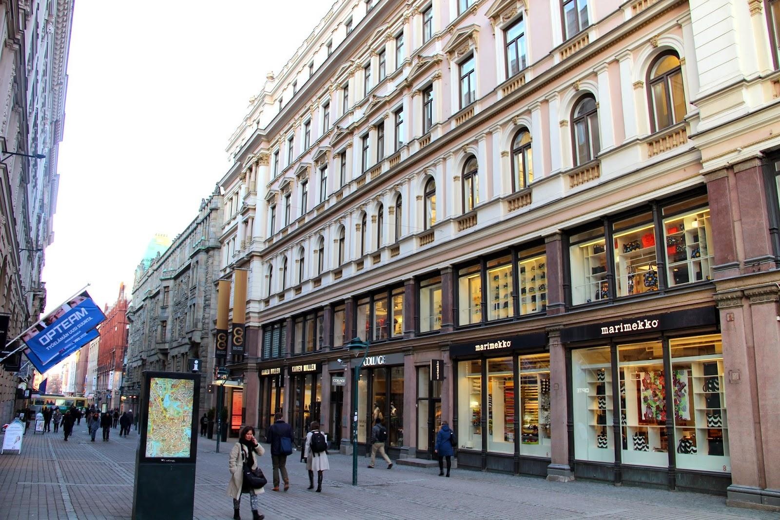 Helsinki Shopping Finland