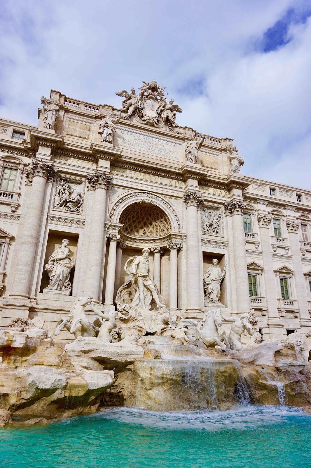 Trevi Fountain January 2019