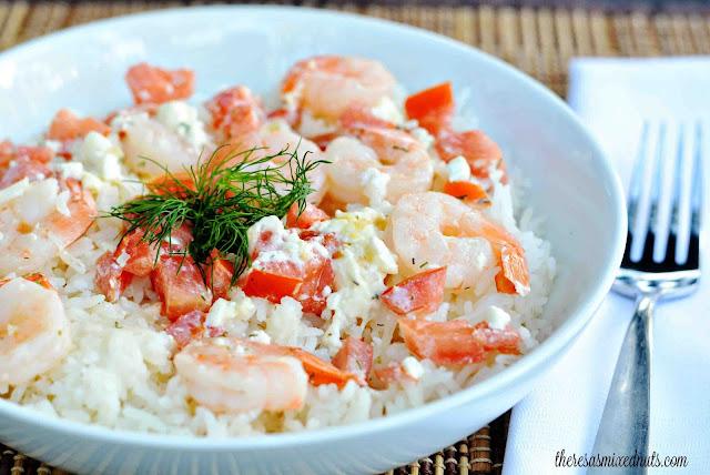 Dilled Shrimp Gratin