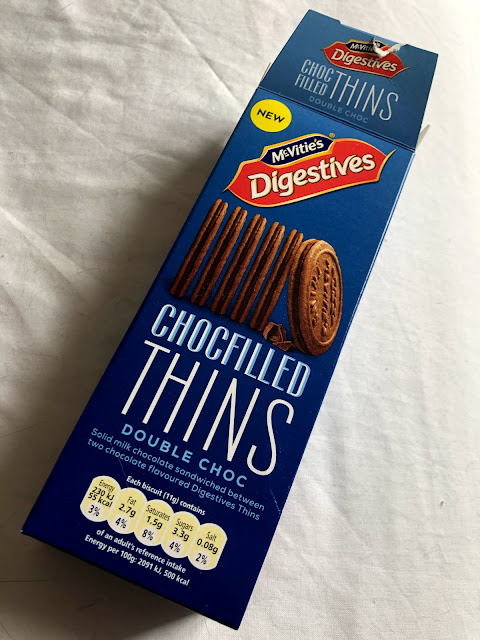 McVitie's Digestives - Chocfilled Thins - Double Choc