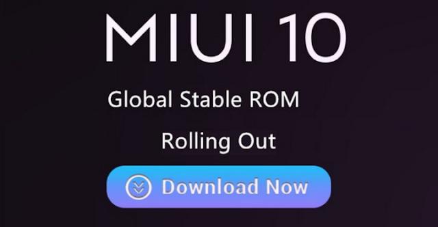MIUI 10 Global Stable untuk Xiaomi Mi Mix 2S dan Xiaomi Mi 8