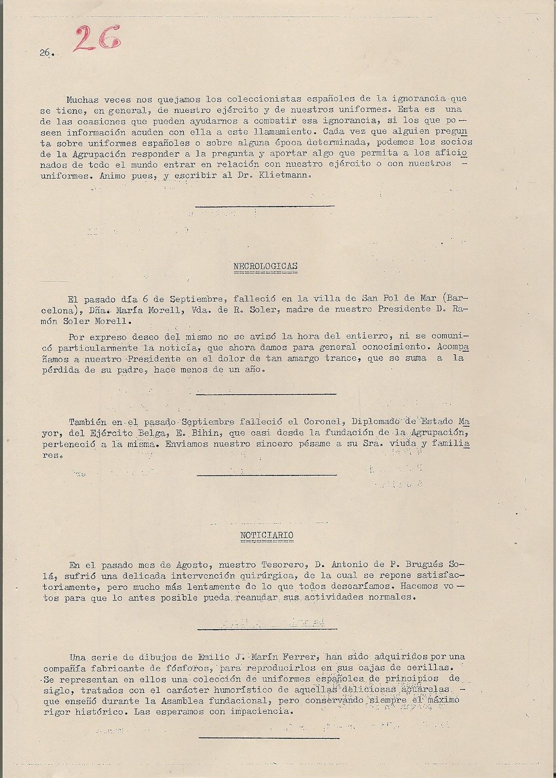 MINIATURAS MILITARES POR ALFONS CÀNOVAS: BOLETIN Nº 55- Nº VII-3º ...