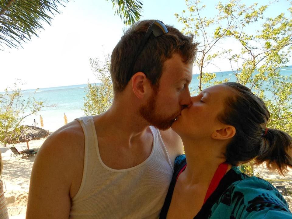 Honeymoon vacation turns into a threesome sex