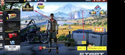 Rules Of Survival FPP Modu Açma içerik görseli