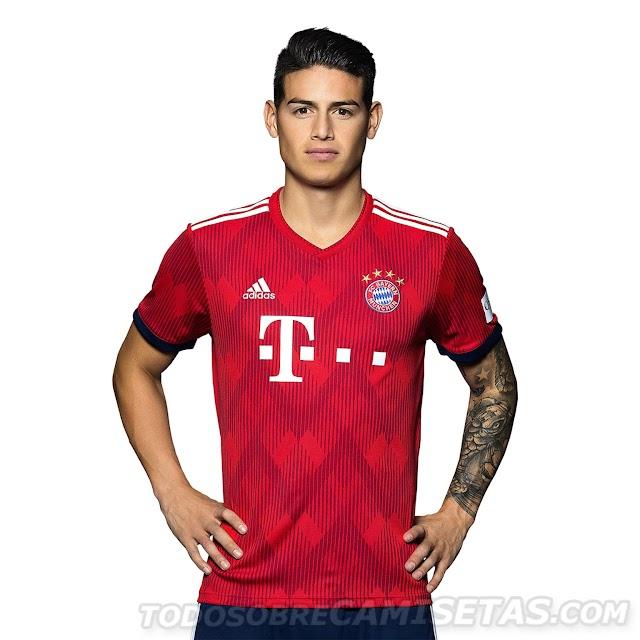 Bayern Munich 2018-19 Adidas Kit