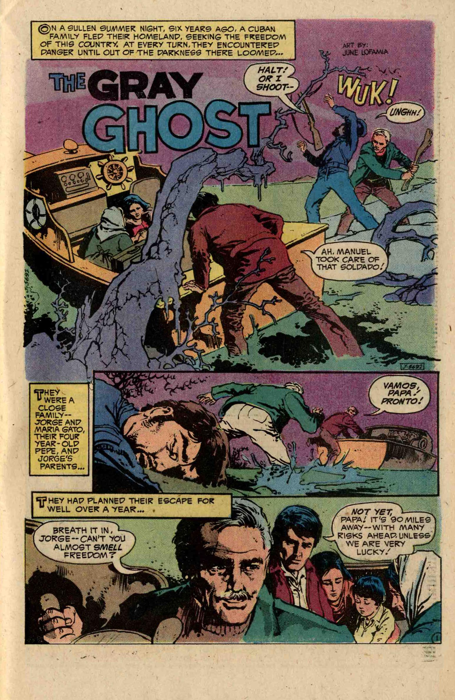 Read online Ghosts comic -  Issue #79 - 27