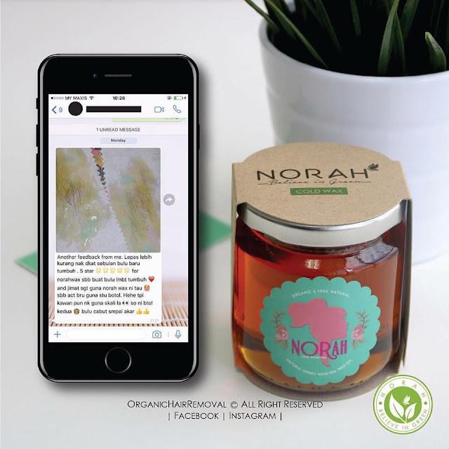 Norah Organic Hair Removal