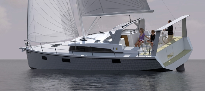 Interesting Sailboats: OVNI 400: A MODERN ALUMINIUM VOYAGE BOAT