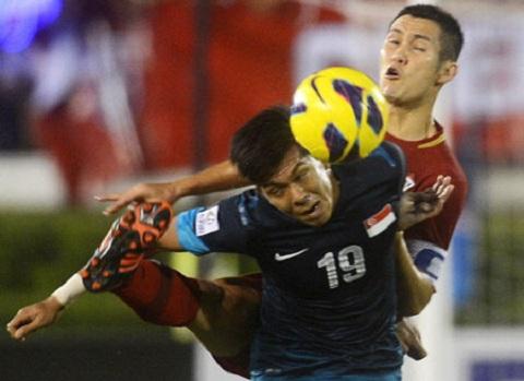 Singapore vô địch AFF Cup 2012.