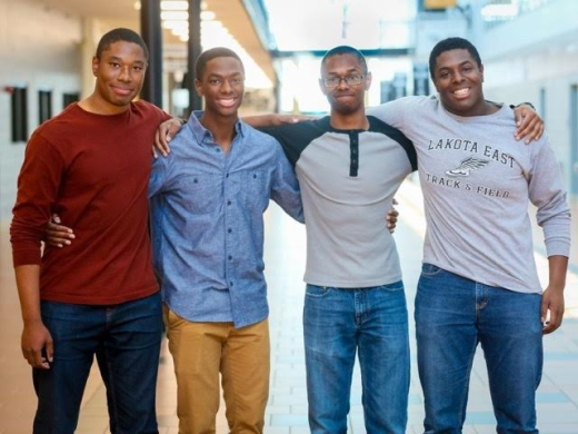 Meet the world's brainiest quadruplets, the Wade Brothers