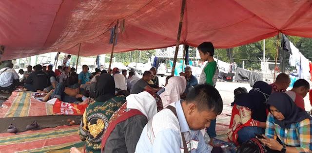 Demo Lagi, Buruh AMT Merasa Telah Di-PHP-kan Istana