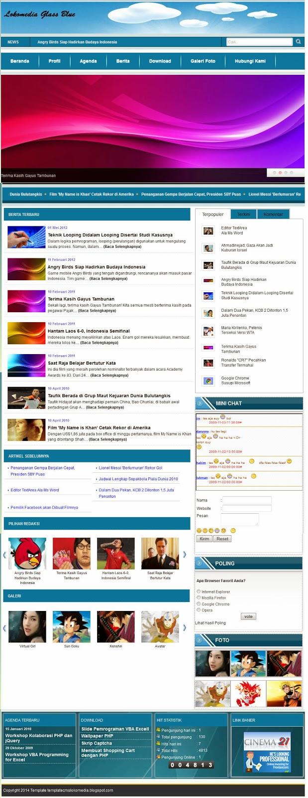 Download template free dari cms lokomedia   template lokomedia.