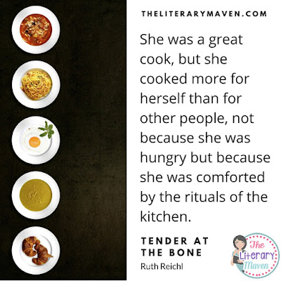 Tender at the Bone, a memoir by Ruth Reichl, centers around food and mother daughter relationships because for the author, the two are very much intertwined. The book is full of Ruth's adventures and humor. Read on for more of my review and ideas for classroom use.
