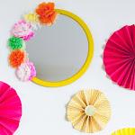 DIY Mexican Fiesta Mirror