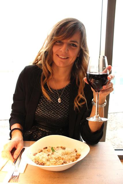 repas de noel, vapiano, les petites bulles de ma vie