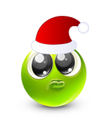 Christmas Smiley Icon 30