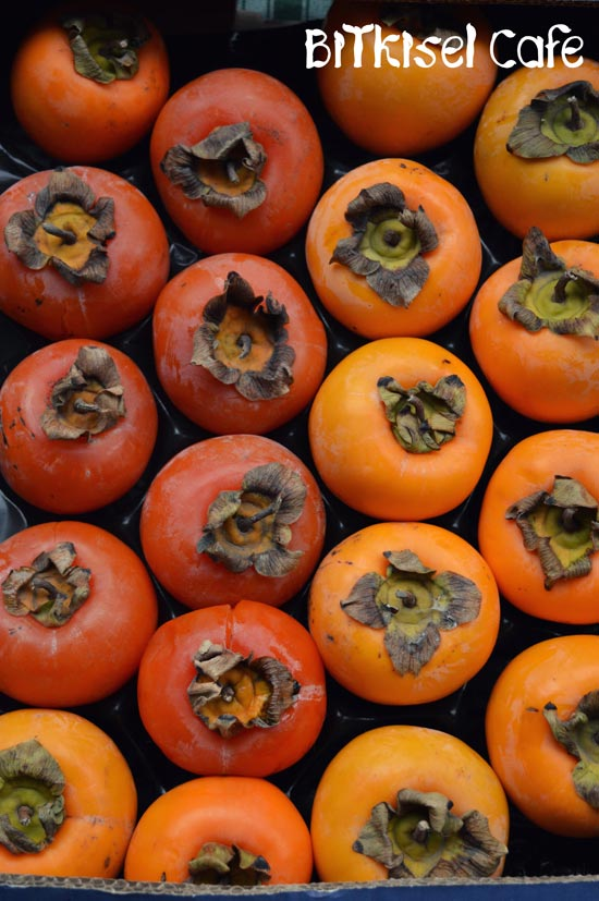 persimmons ... 2-Ingredient Chocolate Pudding