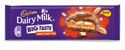 Cadbury Dairy Milk Big Taste Peanut Caramel Crisp