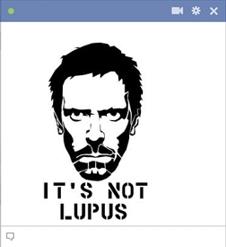 Dr House lupus emoticon