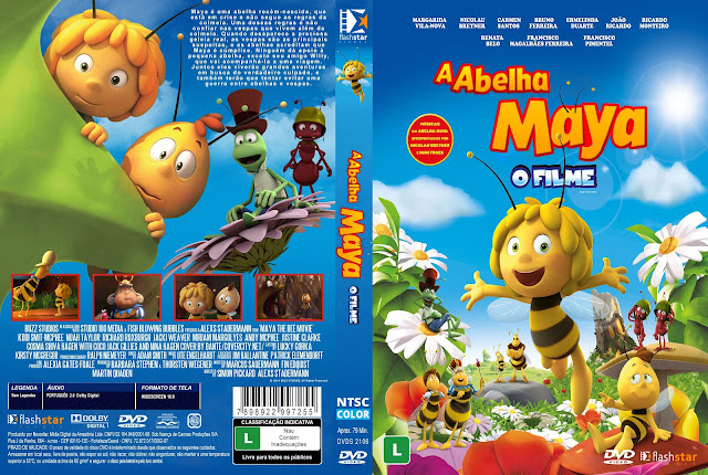 Capa DVD A Abelha Maya O Filme