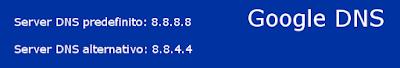 Server DNS Google
