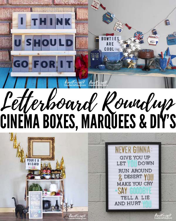 Make your own letterboard, get quote ideas, plus everything letterboard