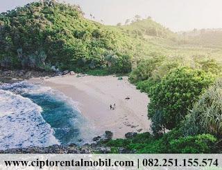 Pantai Watu Lepek, Pantai Malang, Pantai Malang Selatan.
