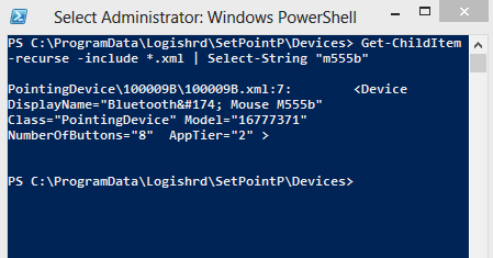 ricerca fulltext powershell windows 8