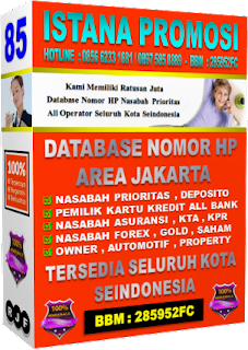 Jual Data Nasabah Bank 2017