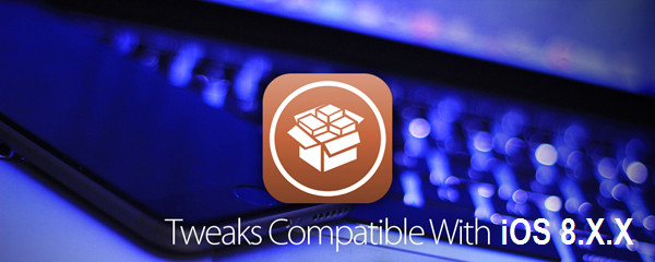 Working & Compatible Cydia iOS 8 Jailbreak Tweaks & Apps