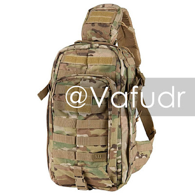 Fake 5.11 Tactical Rush MOAB 10 sling pack in Multicam