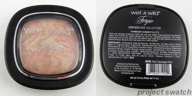 Wet n Wild Fergie Rose Champagne Glow Highlighter Review & Swatches
